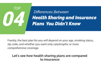 Top 04 Differences Between Health Sharing and Insurance Plans You didn't Know