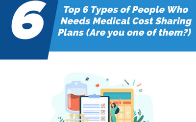 Top 6 Types of People Who Needs Medical Cost Sharing Plan (Are You One of Them)?